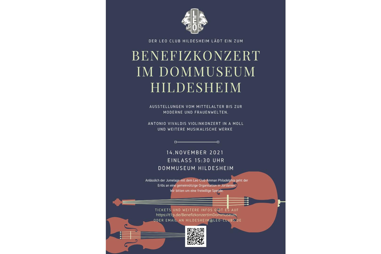 Domkonzert in Hildesheim am 14.11.2021