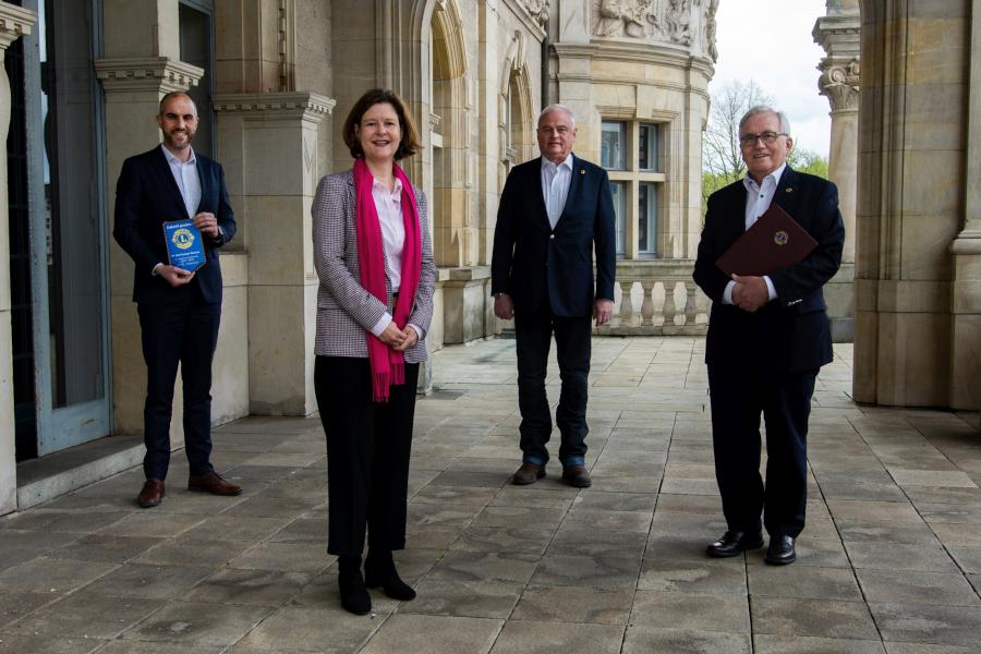 Kongress der Deutschen Lions 2024 mit Unterstützung der Stadt Hannover Foto: Landeshauptstadt Hannover